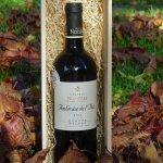 Wijn met kist