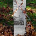 Cadeauverpakking Franse krant